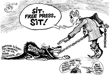 Image result for Freedom of the Press CARTOON